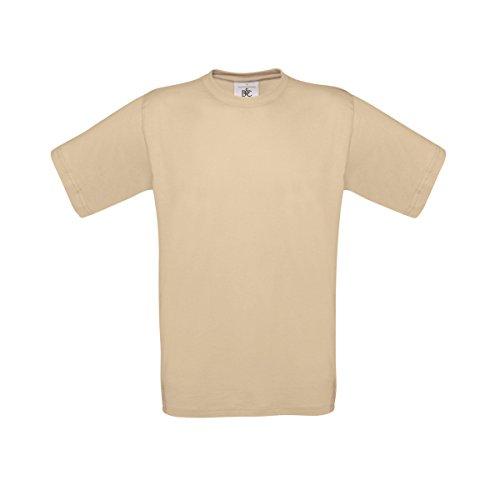 B&C Exact 150 T-Shirt für Männer Sand