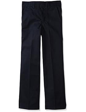 Dickies - 56-562 del niño plana Frente Pant (Tallas 8-20), 12, Dark Navy