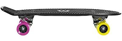 """JUICY Susi Penny Board Skate Sk8 schwarz black 22,5""""x6 Farbe: black"""