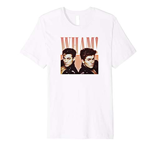 Wham Rap! T-Shirt for Men or Ladies in 5 Colours