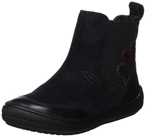 Geox Mädchen J HADRIEL Girl D Chelsea Boots, Schwarz (Black C9999), 34 EU