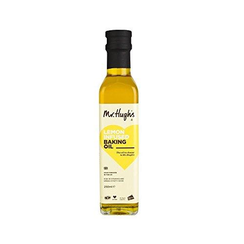 Mr Hugh's Citron Froid Infusé Pressé Extra Vierge De Colza Bicarbonate De 125Ml D'Huile