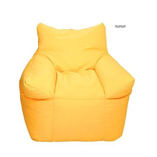 Tft poltrona di lusso con divano, poltrona per hotel, poltrona, idea di moda (colore : giallo)