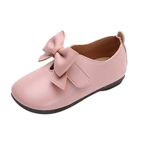 c12fba4ef30d0 Bébé Fille Bowknot Chaussures en Cuir Sneaker Semelles Souples  Anti-dérapantes Chaussures Bébé Fille Bowknot