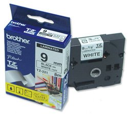 Brother TZ-221 Laminated Tape 9