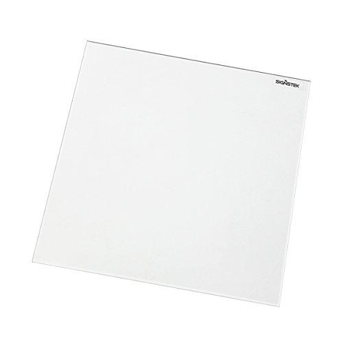 Signstek 1 PCS Borosilikatglas Heizbett Druckbet für Heatbed MK2/MK3 3D Drucker 213*200*3mm (3d-drucker-bett)