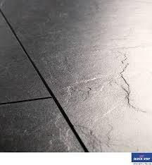 Quick-Step EXQUISA Tile slate Black Laminate Flooring