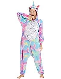 Jumpsuits Pyjama Overalls Nachtwäsche Schlaflosigkeit Halloween Karneval Cosplay Kostüme für Unisex