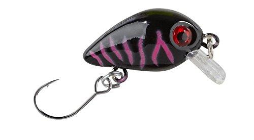 Wobbler Trout Crank mit Einzelhaken / 803 Schwarz, 2g