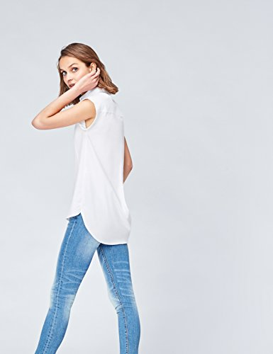 FIND Camicia Donna in Cotone Bianco (White)