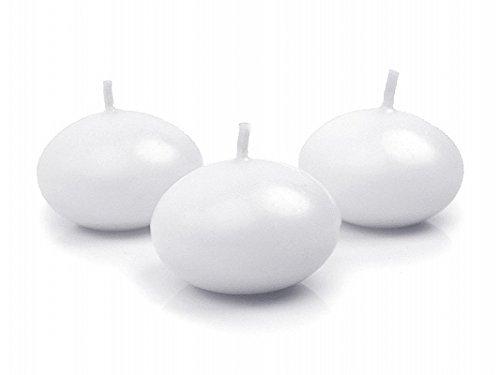 50 candele galleggianti bianche candela galleggiante 50 pz