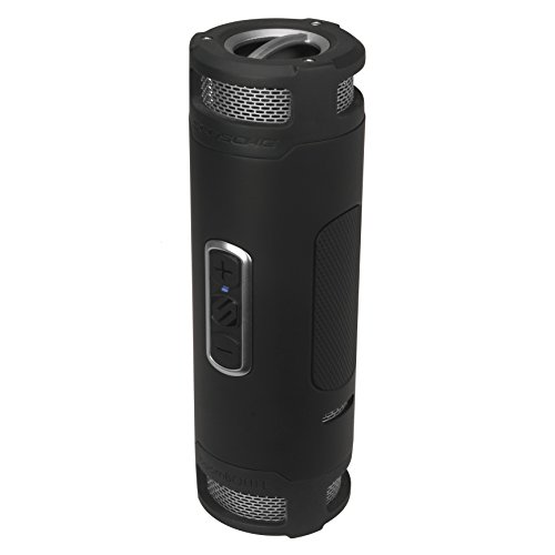 Scosche boomBOTTLE+ Rugged Waterproof Wireless Speaker (Black/Space Grey)