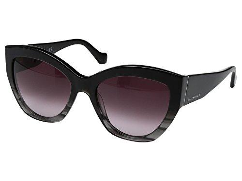 balenciaga-ba0103-cat-eye-general-men-black-burgundy-shaded05t-a-56-19-140