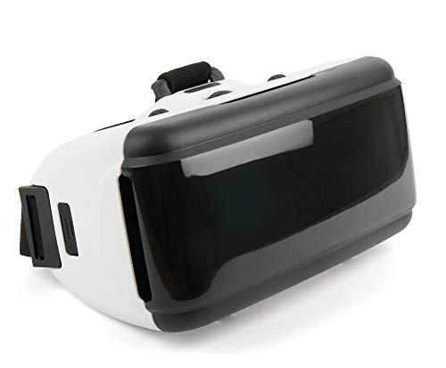 DURAGADGET 3D Virtual-Reality-Brille (VR) / Video Game Brille Magnet-Verschluß für Gionee Steel 2 und Blackview Acme/Alife P1 Pro/Arrow / BV6000 / DM550 / Heatwave/Omega/Ultra / V3 Smartphone
