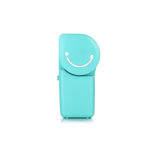 TOLOYO Mini USB Ventilador de Mano, Portátil Acondicionador Aire con Batería Recargable,...