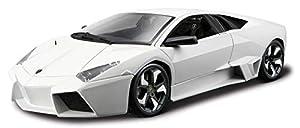 Burago- Bburago Lamborghini Reventon en Escala 1:24 en Color Blanco (18-11029W) (1 Coche)