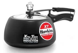Hawkins Contura schwarz XT Induktion kompatibel Schnellkochtopf CXT30 3 Litre