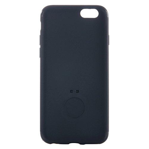 Phone case & Hülle Für iPhone 6 / 6s, Ultra dünner weicher TPU schützender rückseitiger Abdeckungs-Fall mit Ring-Halter-Standplatz ( Color : Pink ) Black