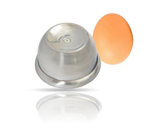 Kerafactum® Edelstahl - Ei Piekser Eierstecher Eistecher Eierpiekser um das Aufplatzen der Eier zu vermeiden