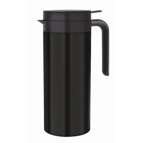 Olympia Vacuum Verseuse Nettoyant en acier inoxydable Mug Tasse Pot à crème Noir
