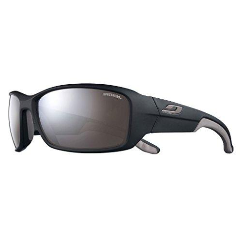 Julbo Run–Gafas de sol unisex, color negro mate/Gris