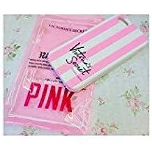 Carcasa blanda victoria' S Secret Pink rayas iPhone 4/4S, compatible con iPhone 4S iPhone 4