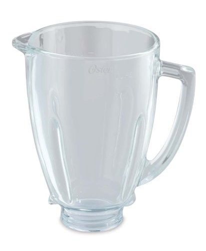 Oster BLSTAJ-G00-050 - Jarra de vidrio redonda 6 tazas 1.5 l