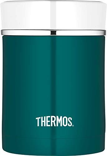 THERMOS 4005.255.047 Speisegefäß Premium, Edelstahl Teal 0,47 l, Spülmaschinenfest, 7 Stunden heiß, 9 Stunden kalt