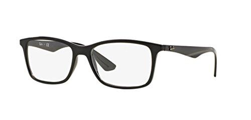 ray-ban-optical-mens-rx7047-black-frame-plastic-eyeglasses-54mm