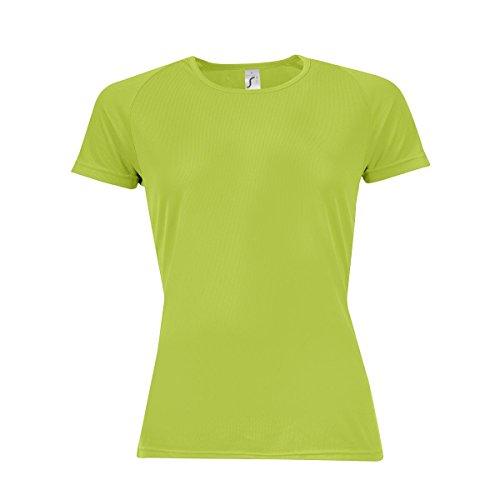 SOLS - T-shirt de sport - Femme Noir