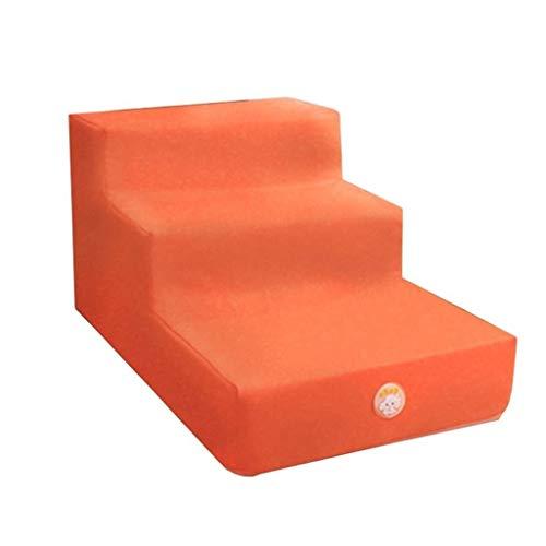Pet Stair Portable Atmungsaktiv Waschbar Pet Steps Slip Durable 3 Steps Leiter Activity Ladder Gilt Für Katzen Und Hunde Indoor Pet Supplies
