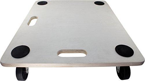 move-it 336623x 19Rechteck Holz Plattform Dolly, 400-lb Tragkraft (Industrial Appliance Dolly)