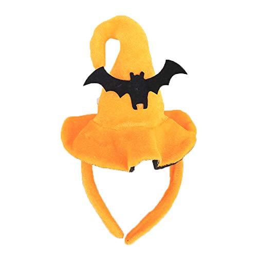 CDKJ Fiesta de Halloween para Niños Diadema de Mascarada Tocado de Halloween Accesorios de Decoración de Halloween
