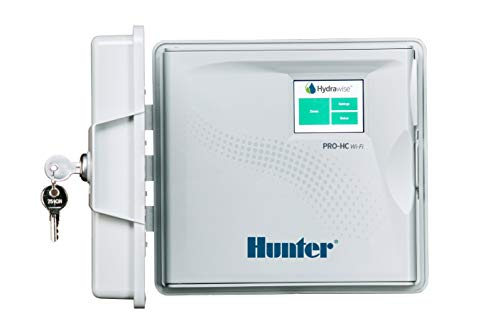 Hunter PRO-HC PHC-1200 Residential Outdoor Professional Grade Wi-Fi Controller with Hydrawise Web-Based Software - 12 Station (Hunter-bewässerung-controller,)