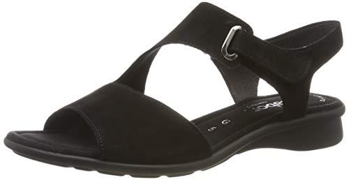 Gabor Shoes Damen Comfort Basic Riemchensandalen, Schwarz (Schwarz 47), 35 EU 35