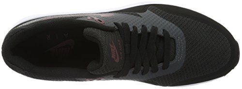 Nike Air Max 1 Ultra Essential, Chaussures de Running Entrainement Homme Noir (Black/Night Maroon Anthracite White)