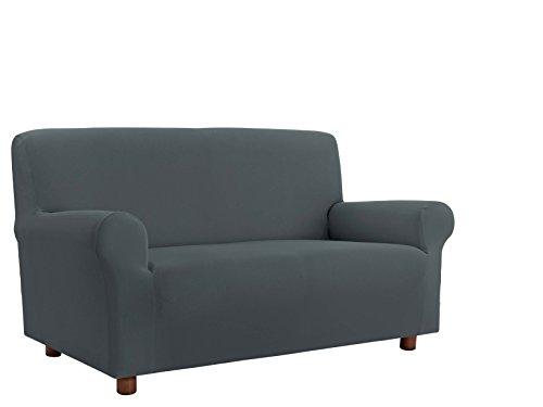 Italian bed linen cdpbgrigio4p copridivano, 96% poliestere/ 4% elastometro, grigio, 4 posti, 220-270 cm