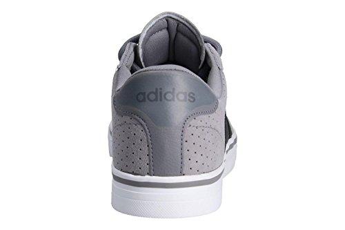 Adidas Bassi grigio Ginnastica Cloudfoam Nero Grigio Eccellente Quotidiana Tre Scarpe Da F17 Homme Quattro Interno Gris F17 UgUqpw