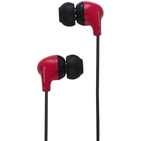 Pioneer SE-CL501-R - Auriculares in-ear, rojo