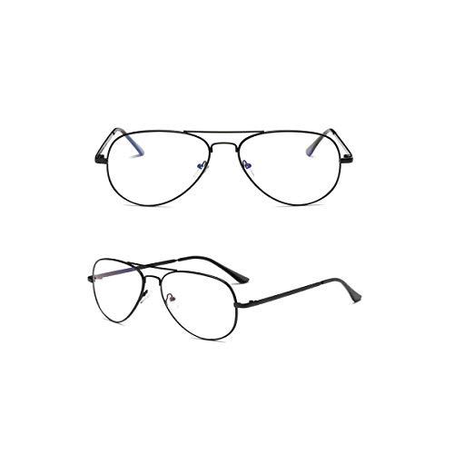 Daawqee Prämie Sonnenbrillen,Brillen, Women's Aviation Sunglasses Men Gold Black Vintage Frog Pilot Sun Glasses For Female Yellow Red Men's Sunglass Classic