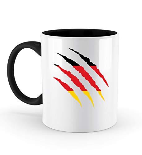 PlimPlom Deutschland Tasse Teetasse Flagge Design Kaffeetasse Spaßgeschenk Spruch Geschenk Idee -...