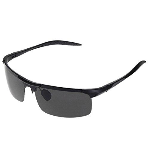 logres 1Paar Polarisierte Sonnenbrille Angeln Radfahren Fahren Outdoor Sonnenbrille Schutz Brillen (# 010)