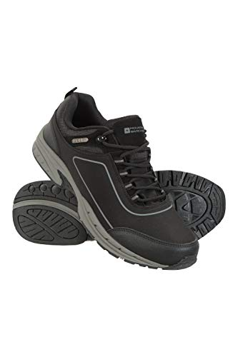 Mountain Warehouse Ramble Softshell Shoes - Lightweight, Waterproof Upper, Cushioned Footbed, High Traction Outsole