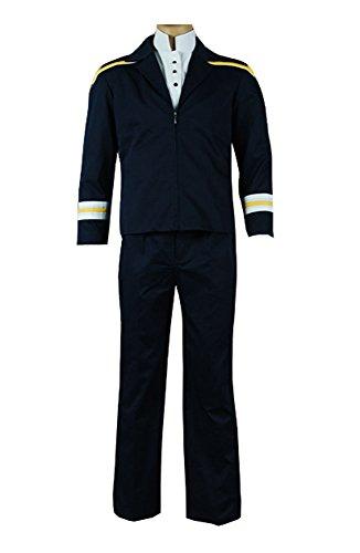 Star Trek Enterprise Archer Uniform Cosplay Kostüm Set Herren (Star Uniform Enterprise Trek)