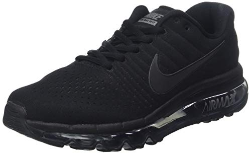 free shipping 59c2a e2884 Nike Air MAX 2017 GS 851622-004, Zapatillas Unisex niños, Negro (Black