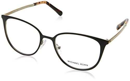 Michael Kors - LIL MK 3017, Rechteckig Metall Damenbrillen