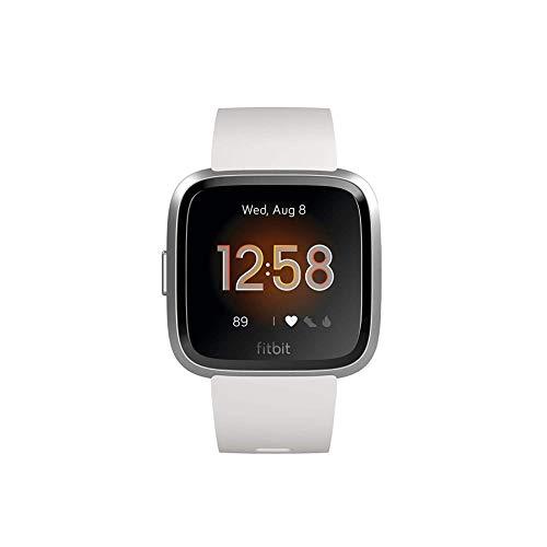 Fitbit Unisex- Erwachsene Versa Lite Smartwatch, Weiß, Einheitsgröße