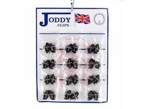 HyFOOTWEAR Jodhpur Clips (Auswahl Farben schwarz oder braun) Braun