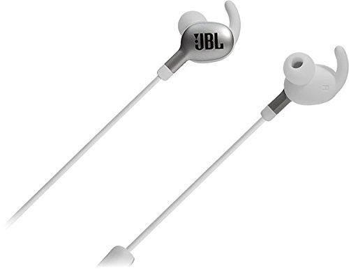 JBL Everest 110 Dentro de Oído Binaural Inalámbrico Plata, Blanco - Auriculares (Inalámbrico, Dentro de Oído, Binaural, Intraaural, 10-22000 Hz, Plata, Blanco)