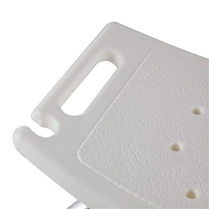 31RQsw0NzyL. SS416  - HENGMEI Silla de ducha Taburete Ajustable Taburete de Ducha Antideslizante para personas mayors